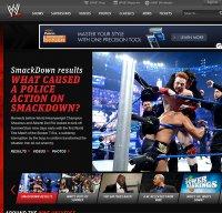 wwe.com screenshot