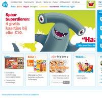 www.ah.nl screenshot