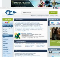 www.aol.de screenshot