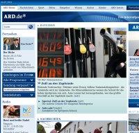 www.ard.de screenshot