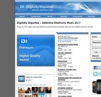 www.di.fm screenshot