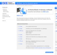 www.dkb.de screenshot