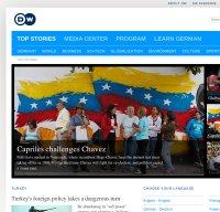 www.dw.de screenshot