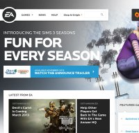 www.ea.com screenshot