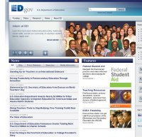 www.ed.gov screenshot