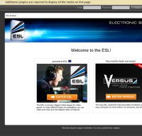 www.esl.eu screenshot