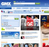 www.gmx.at screenshot