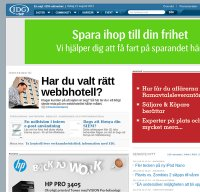 www.idg.se screenshot