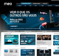 www.meo.pt screenshot