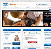 www.nhs.uk screenshot