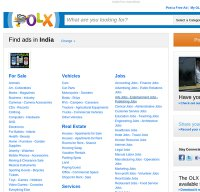 www.olx.in screenshot