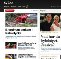 www.svt.se screenshot