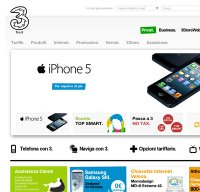 www.tre.it screenshot