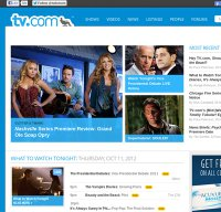 www.tv.com screenshot