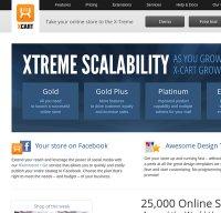 x-cart.com screenshot