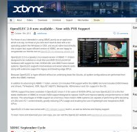 xbmc.org screenshot
