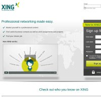 xing.com screenshot
