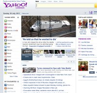 yahoo.ca screenshot