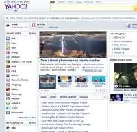 yahoo.co.uk screenshot