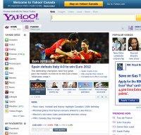 yahoo.com screenshot