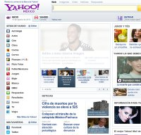 yahoo.com.mx screenshot