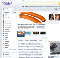 yahoo.com.sg screenshot