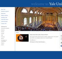 yale.edu screenshot