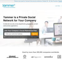 yammer.com screenshot