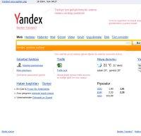 yandex.com.tr screenshot