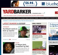 yardbarker.com screenshot