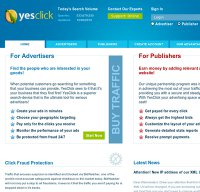 yesclick.com screenshot