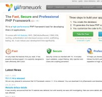 yiiframework.com screenshot
