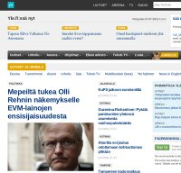 yle.fi screenshot