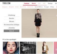 yoox.com screenshot
