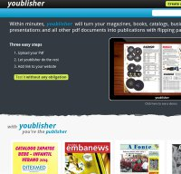 youblisher.com screenshot