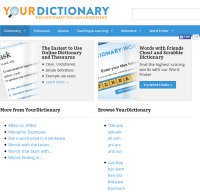 yourdictionary.com screenshot
