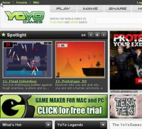yoyogames.com screenshot