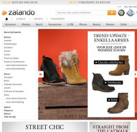 zalando.be screenshot