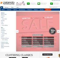 zalando.co.uk screenshot