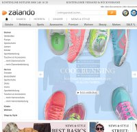 zalando.de screenshot