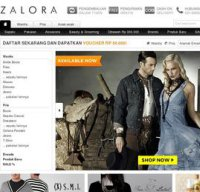 zalora.co.id screenshot