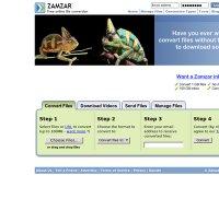 zamzar.com screenshot