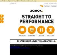 zanox.com screenshot