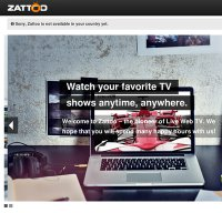 zattoo.com screenshot