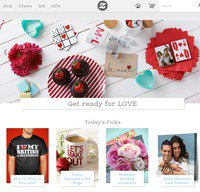 zazzle.co.uk screenshot