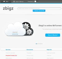 zbigz.com screenshot