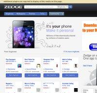zedge.net screenshot