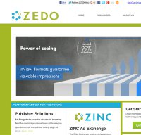 zedo.com screenshot