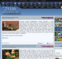 zeldadungeon.net screenshot