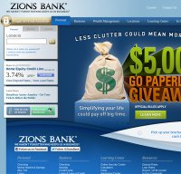 zionsbank.com screenshot